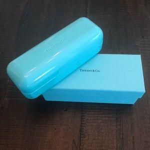 Tiffany & co eyeglasses case and box